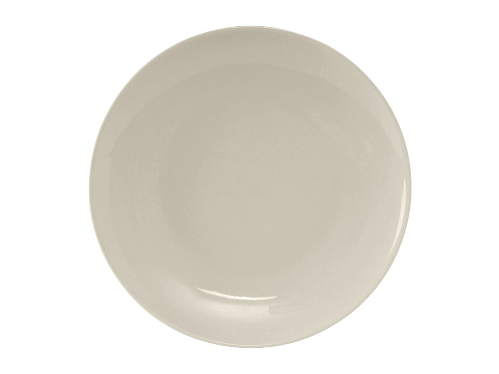 "Venice Plate 9-5/8"" - Eggshell White Coupe (Pack of 24)"