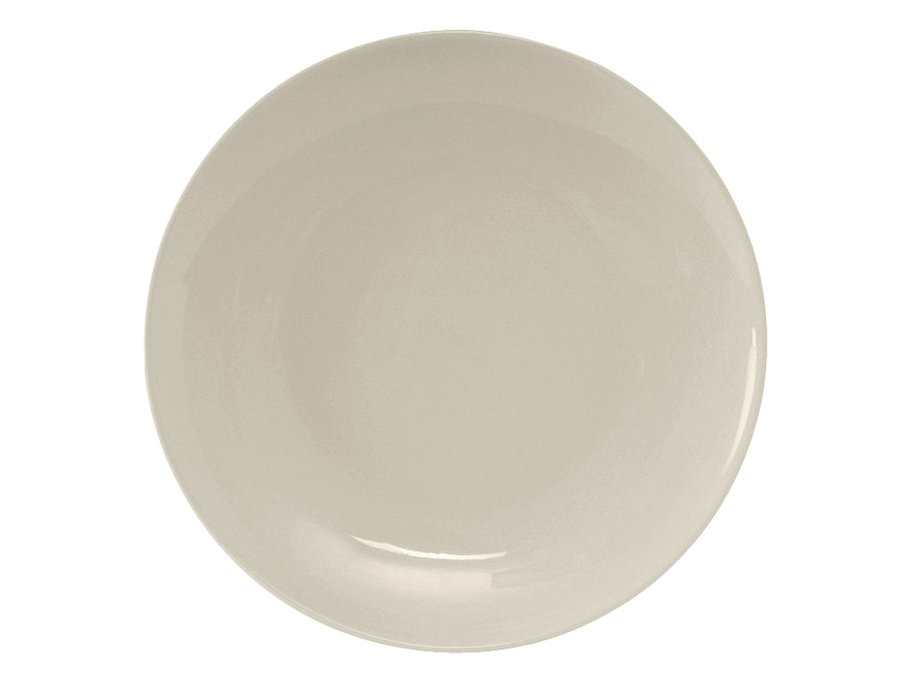 "Venice Plate 10-1/4"" - Eggshell White Coupe (Pack of 12)"