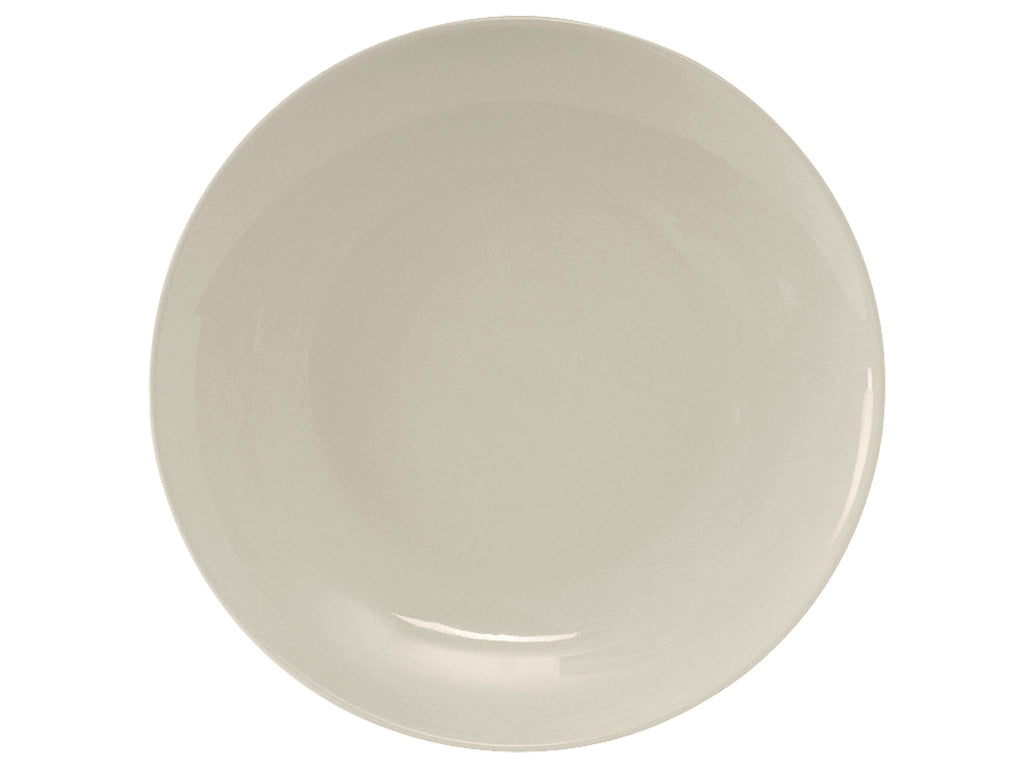 "Venice Plate 11-3/4"" - Eggshell White Coupe (Pack of 12)"