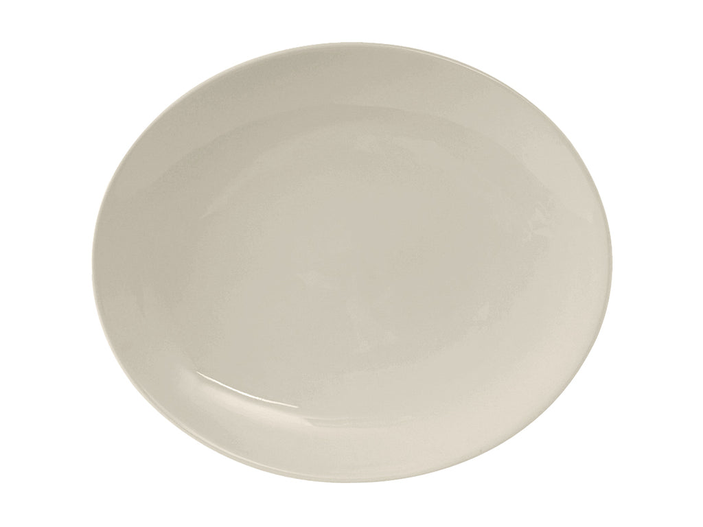 "Venice Platter 11-1/2"" - Eggshell White Coupe (Pack of 12)"