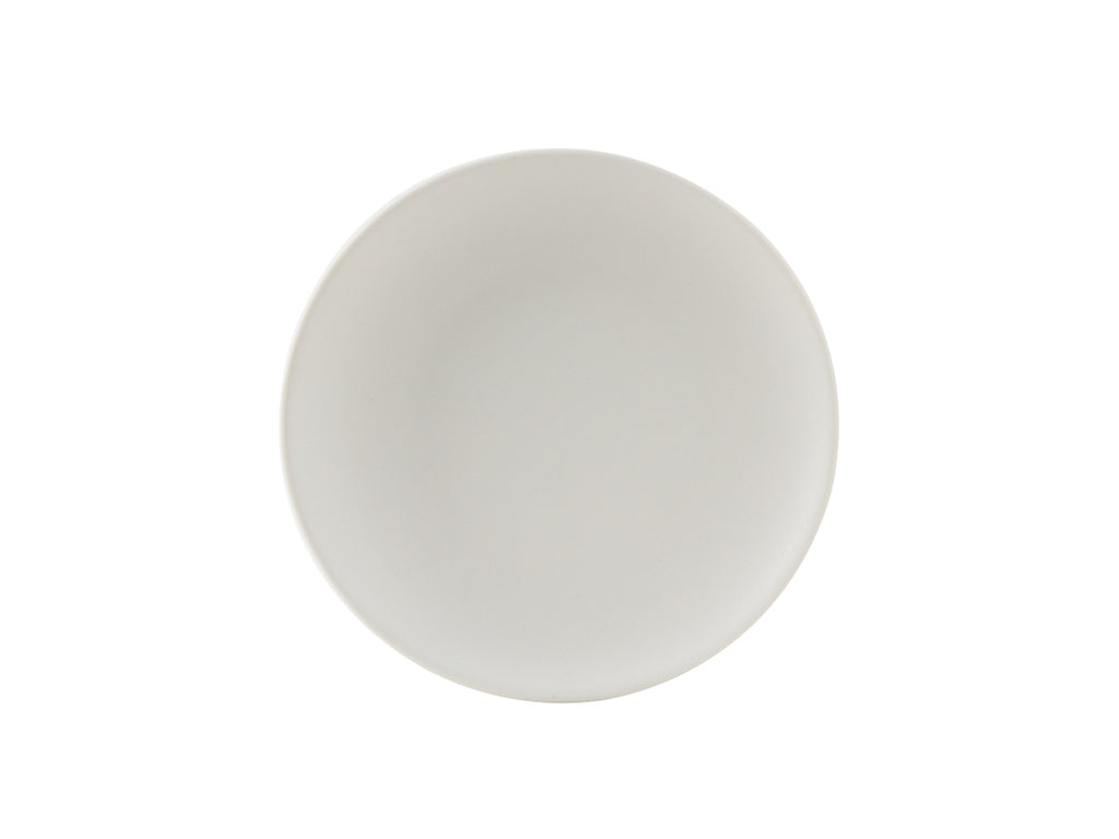 "Zion Plate 6-1/2"" - Matte White Coupe (Pack of 36)"