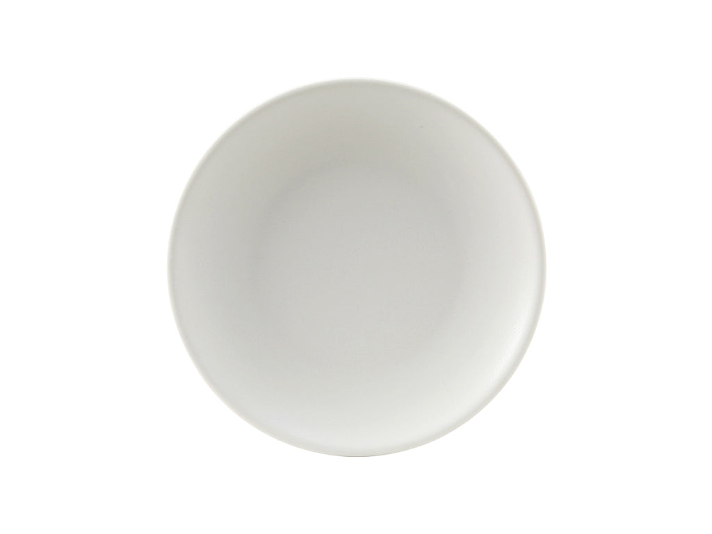 "Zion Plate 7-1/8"" - Matte White Coupe (Pack of 36)"