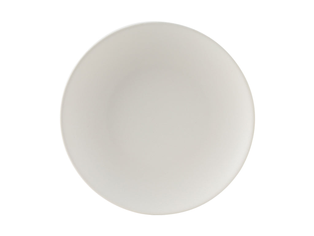"Zion Plate 9"" - Matte White Coupe (Pack of 24)"