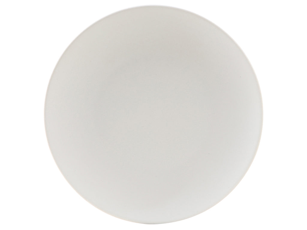 "Zion Plate 11-3/4"" - Matte White Coupe (Pack of 12)"