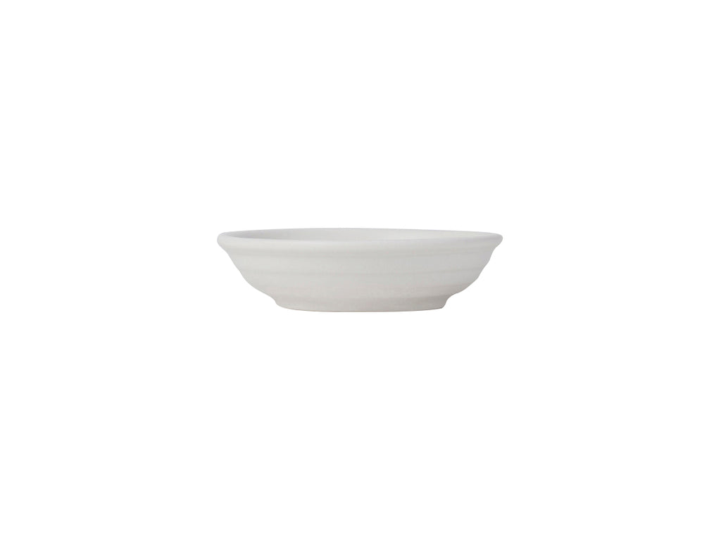 Zion Fruit Dish 3-1/2oz - Matte White Embossed (Pack of 24)