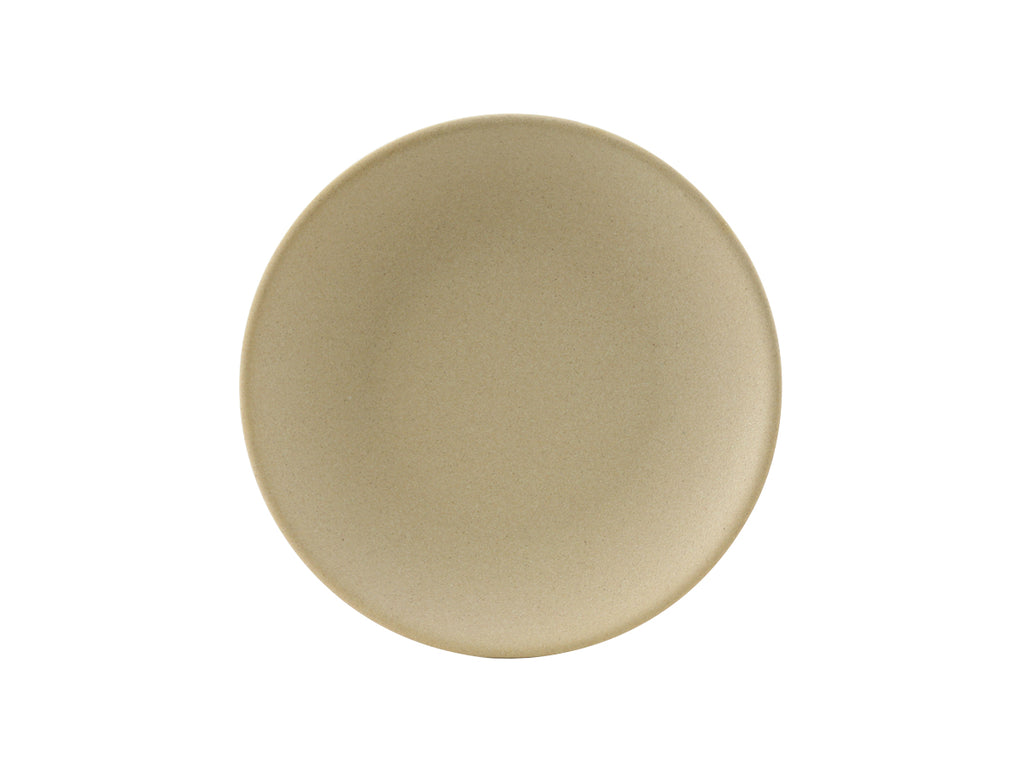 "Zion Plate 7-1/8"" - Matte Beige Coupe (Pack of 36)"