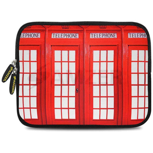 British Telephone Booth Tablet Sleeve 10.5 inch