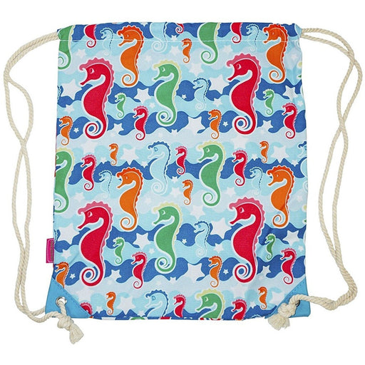 Seahorse Drawstring Backpacks - Dallas Wholesalers