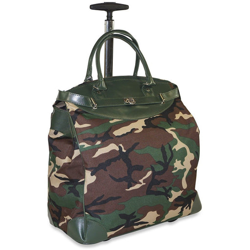 Camo Rolling Laptop Bag - Dallas Wholesalers