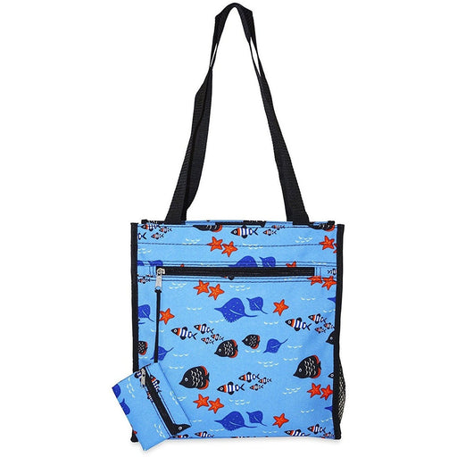 Fish Theme Tote Bags - Dallas Wholesalers