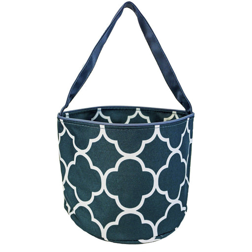 Quatrefoil Wholesale Fabric Baskets - Dallaswholesalers.net