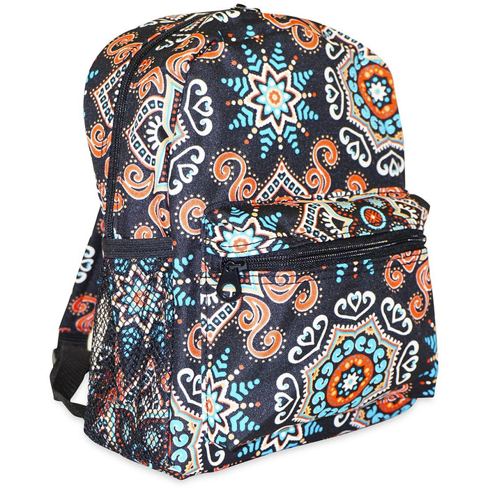 Mosaic Print Tiny Backpack - Dallaswholesalers.net