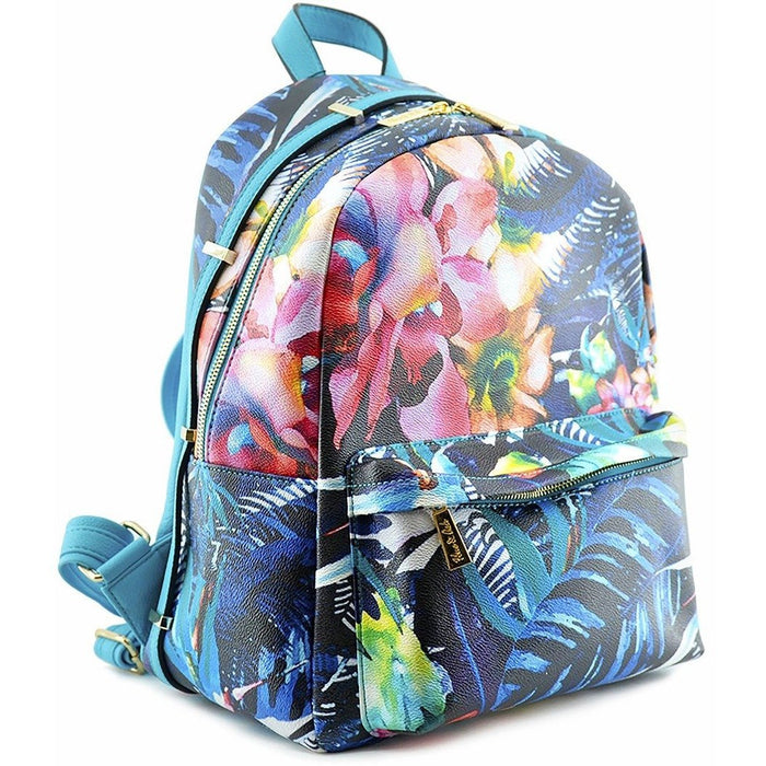 Tropical Floral Fashion Backpacks - Dallas Wholesalers