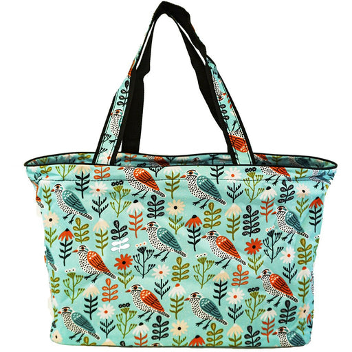 Birds Large Beach Tote