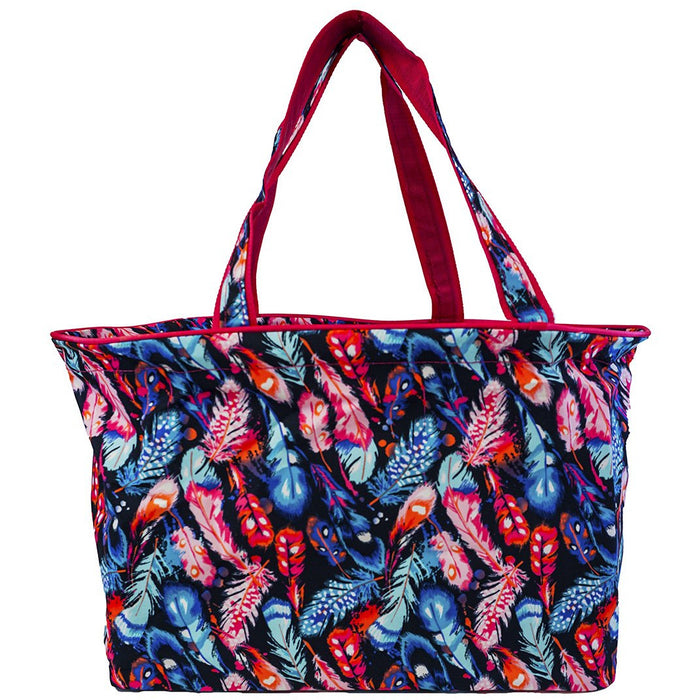 Feather Large Beach Tote
