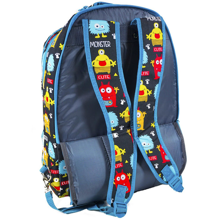 Monsters Rolling Laptop Backpack - Dallaswholesalers.net