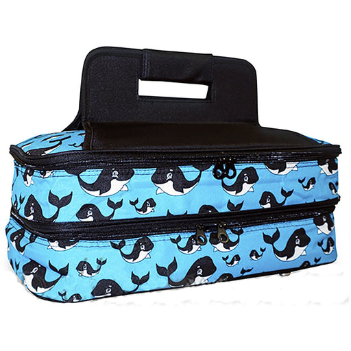 Whale Casserole Carrying Tote - Dallaswholesalers.net