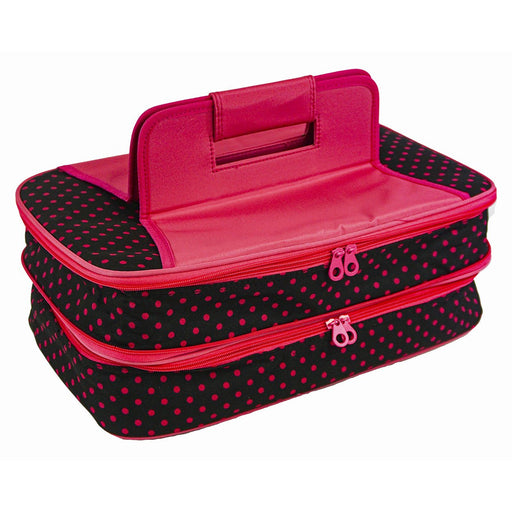 Polka Dot Thermal Casserole Bag