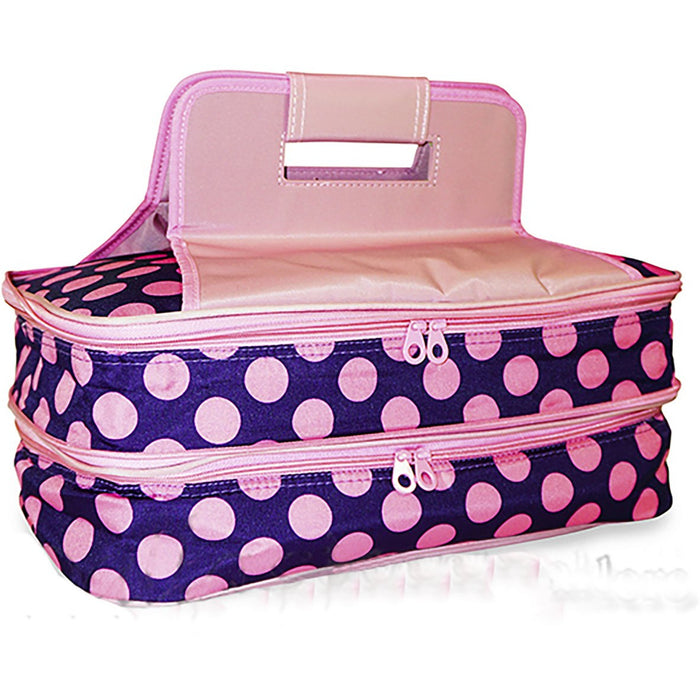 Polka Dot Casserole Carrying Tote - Dallaswholesalers.net