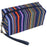Striped Makeup Bag - Dallaswholesalers.net