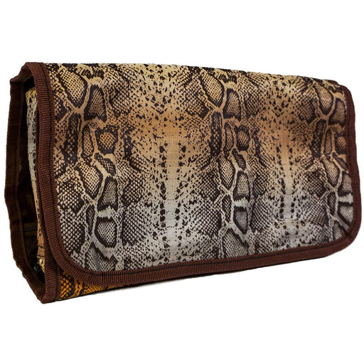 Snake Skin Pattern Hanging Toiletry Bag - Dallaswholesalers.net