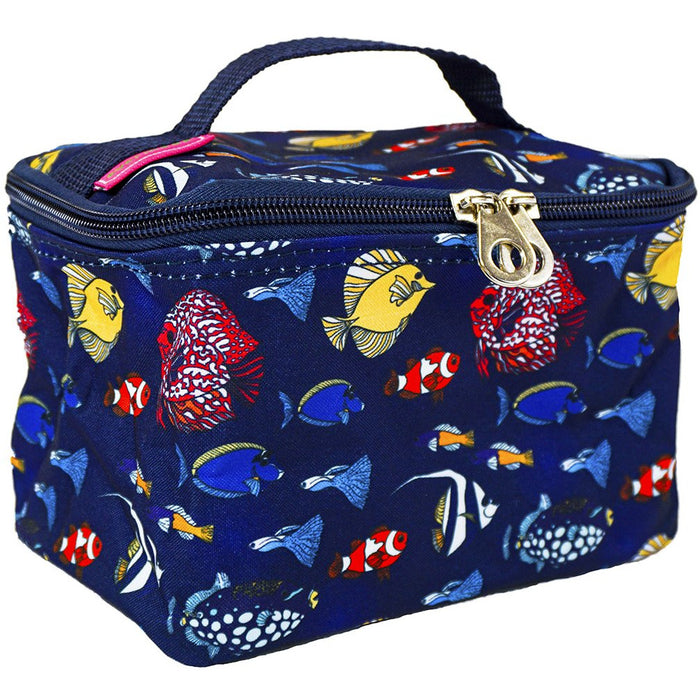 Fish Square Makeup Bag - Dallaswholesalers.net