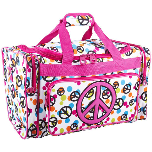 Peace Sign Duffle Bag - Dallaswholesalers.net