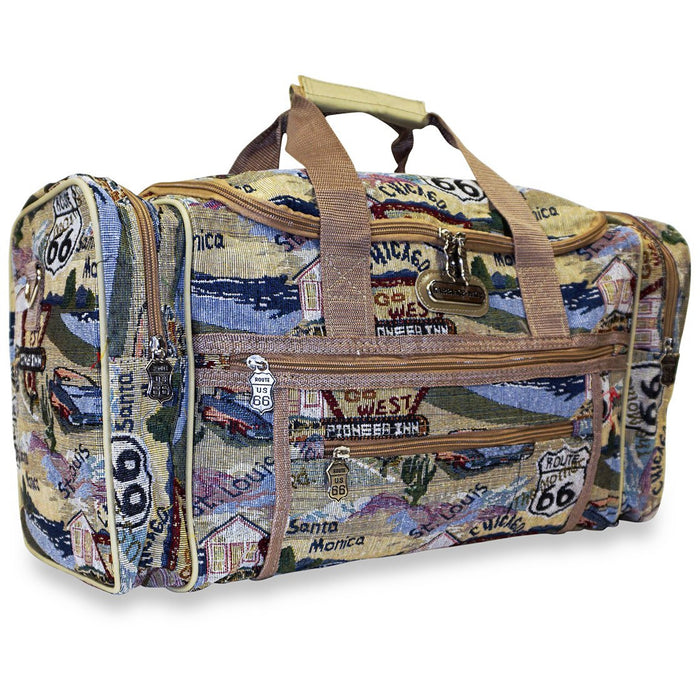 Route 66 Duffle Bags - Dallas Wholesalers