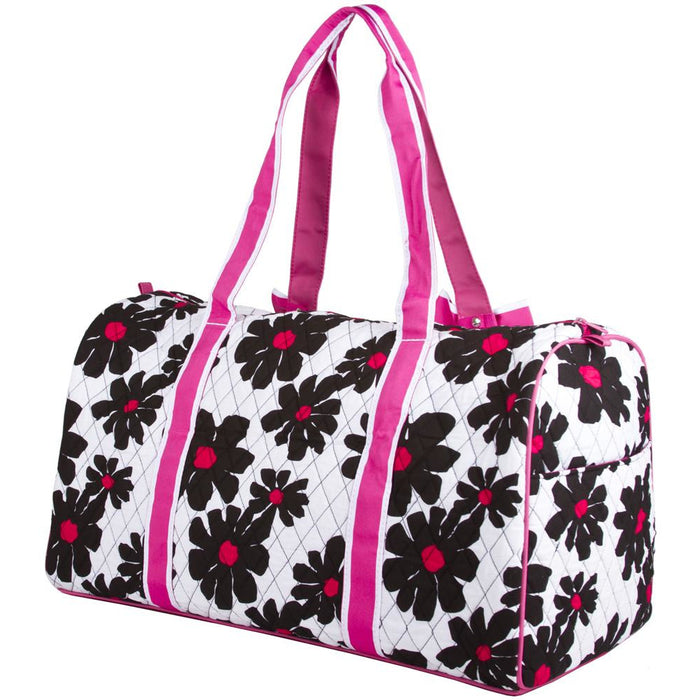 Floral Quilted Duffel Bags