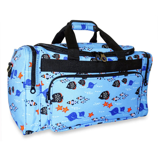Fish Theme Duffle Bag - Dallaswholesalers.net