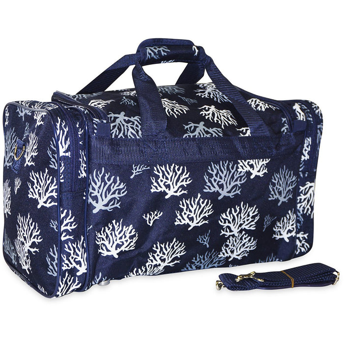 Sea Coral Gym Duffle Bag - Dallaswholesalers.net