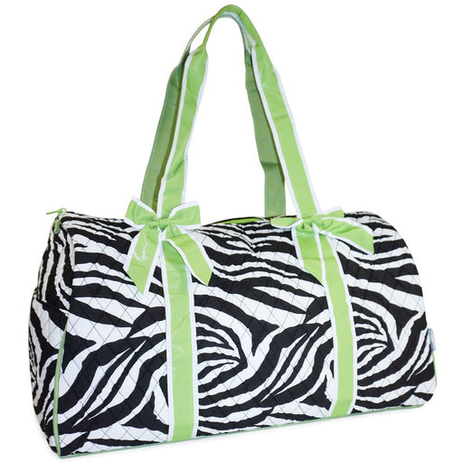 Zebra Quilted Duffle Bag - Dallaswholesalers.net
