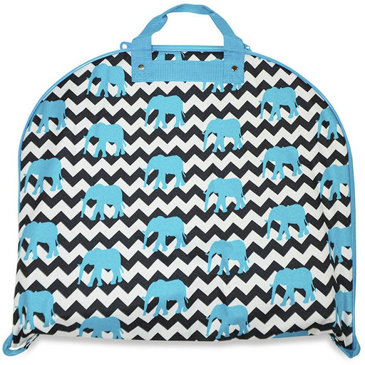 Elephant Chevron Striped Garment Bag - Dallaswholesalers.net