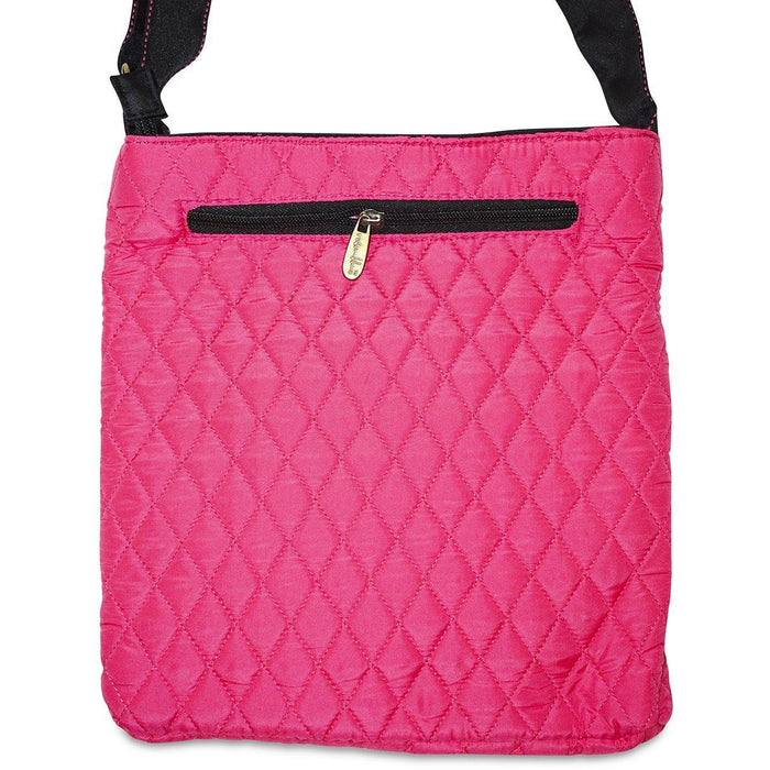 Quilted Fabric Crossbody Bag - Dallas Wholesalers
