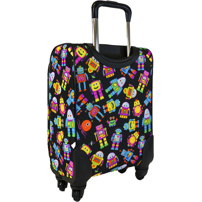 Robots Spinner Luggage - Dallaswholesalers.net