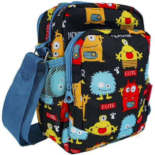 Monsters Crossbody Messenger Bag - Dallaswholesalers.net