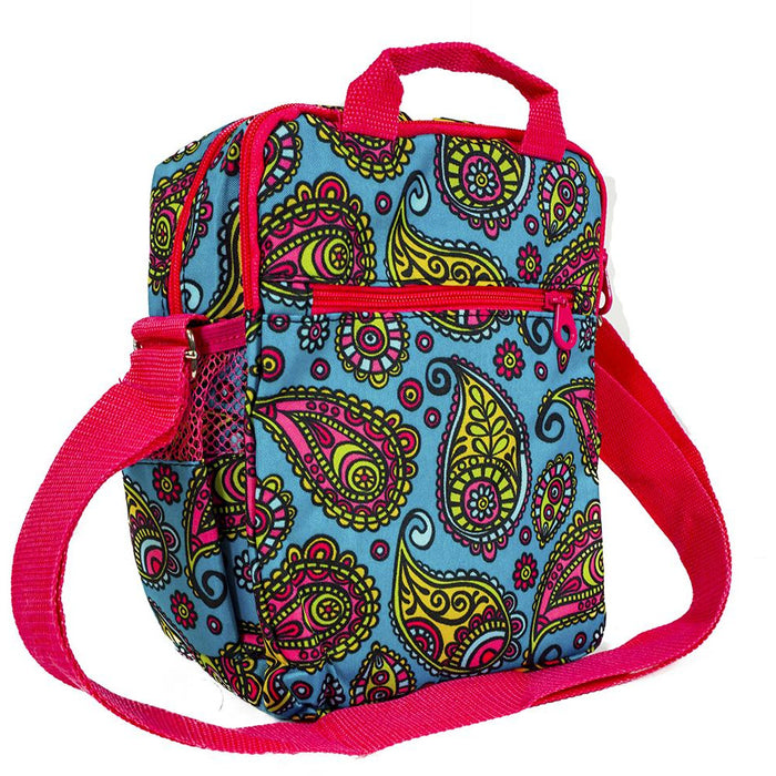 Paisley Crossbody Messenger Bag - Dallaswholesalers.net