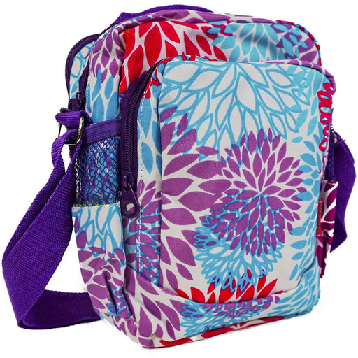 Floral Crossbody Messenger Bag - Dallaswholesalers.net