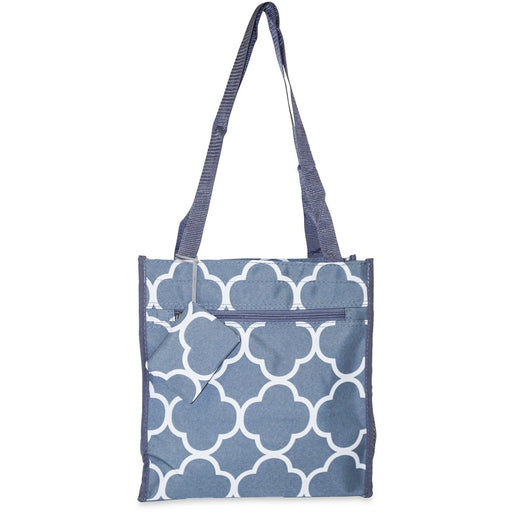 Quatrefoil Totes - Dallas Wholesalers