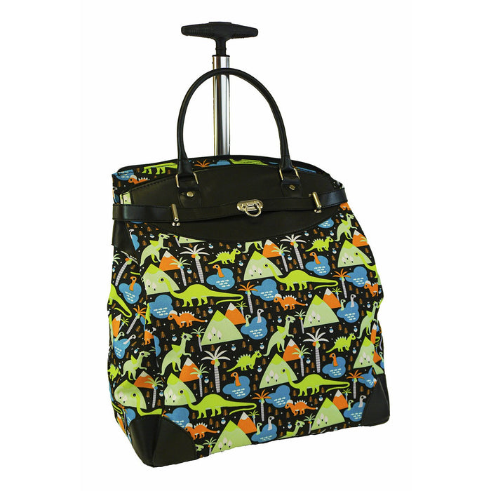 Dinosaur Rolling Laptop Bag