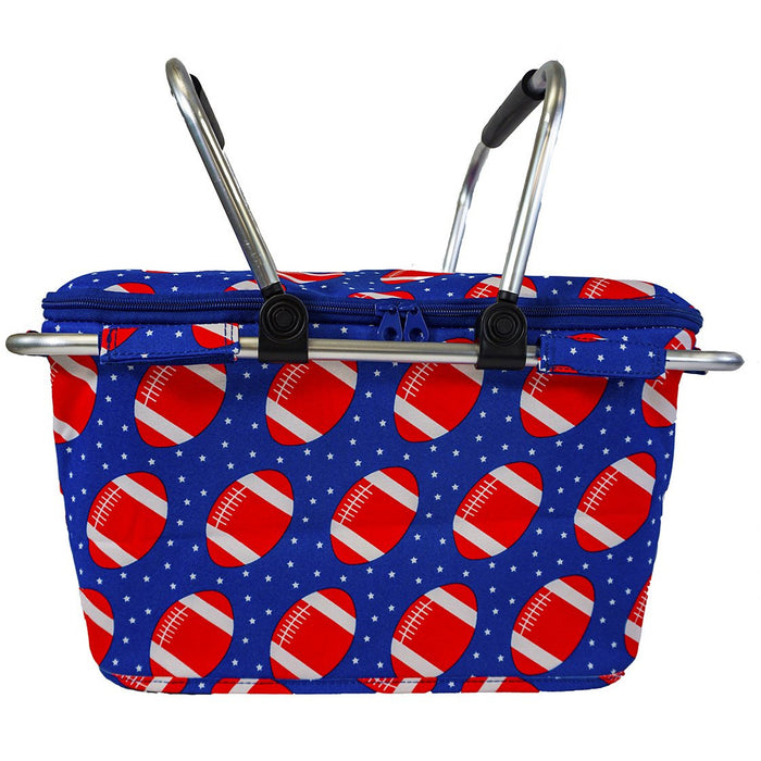 Football Wholesale Picnic Baskets - Dallaswholesalers.net
