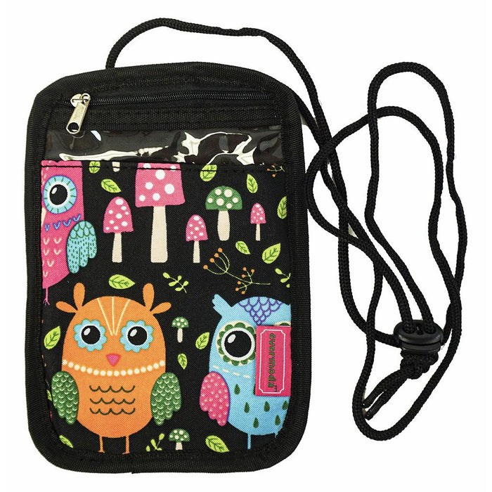 Owl Passport Neck Pouch