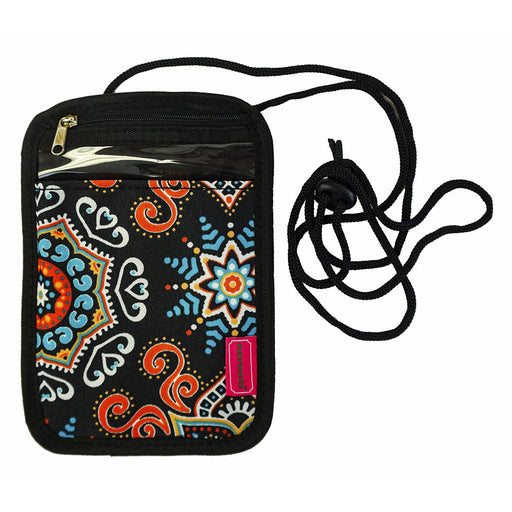 Mosaic Passport Neck Pouch