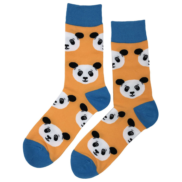 Panda Head Socks