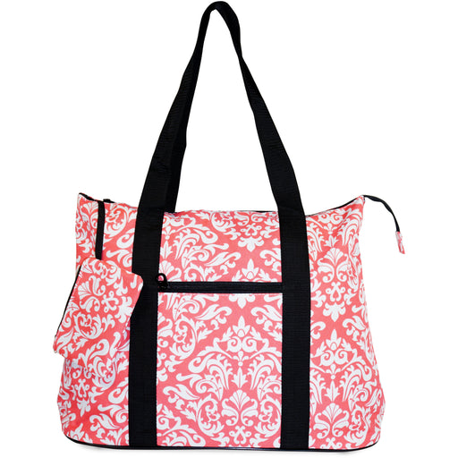 Damask Travel Tote