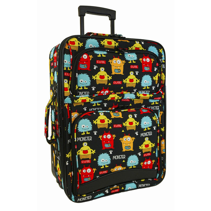Monsters Luggage Set - Dallaswholesalers.net