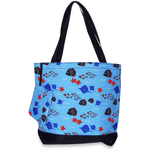 Fish Tote Bag - Dallaswholesalers.net