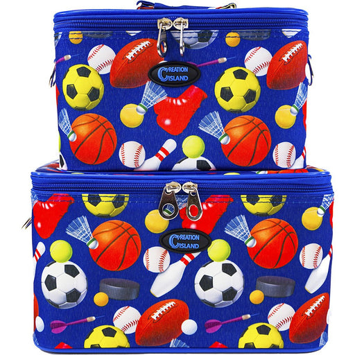Sports Beauty Train Case Set