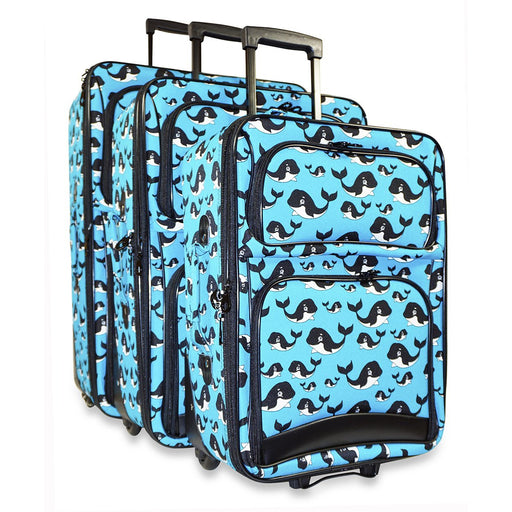 Whale Luggage Set