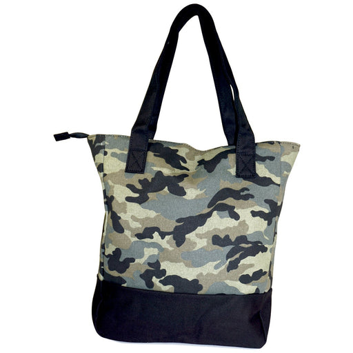 Camo Canvas Tote - Dallaswholesalers.net
